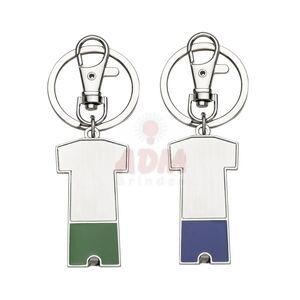12451 Chaveiro metal porta bolsa dobrável formato uniforme