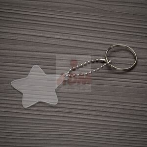 13278 Chaveiro Plástico Estrela
